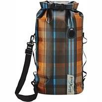 Draagtas Sealline Discovery Deck Bag 30L Olive Plaid